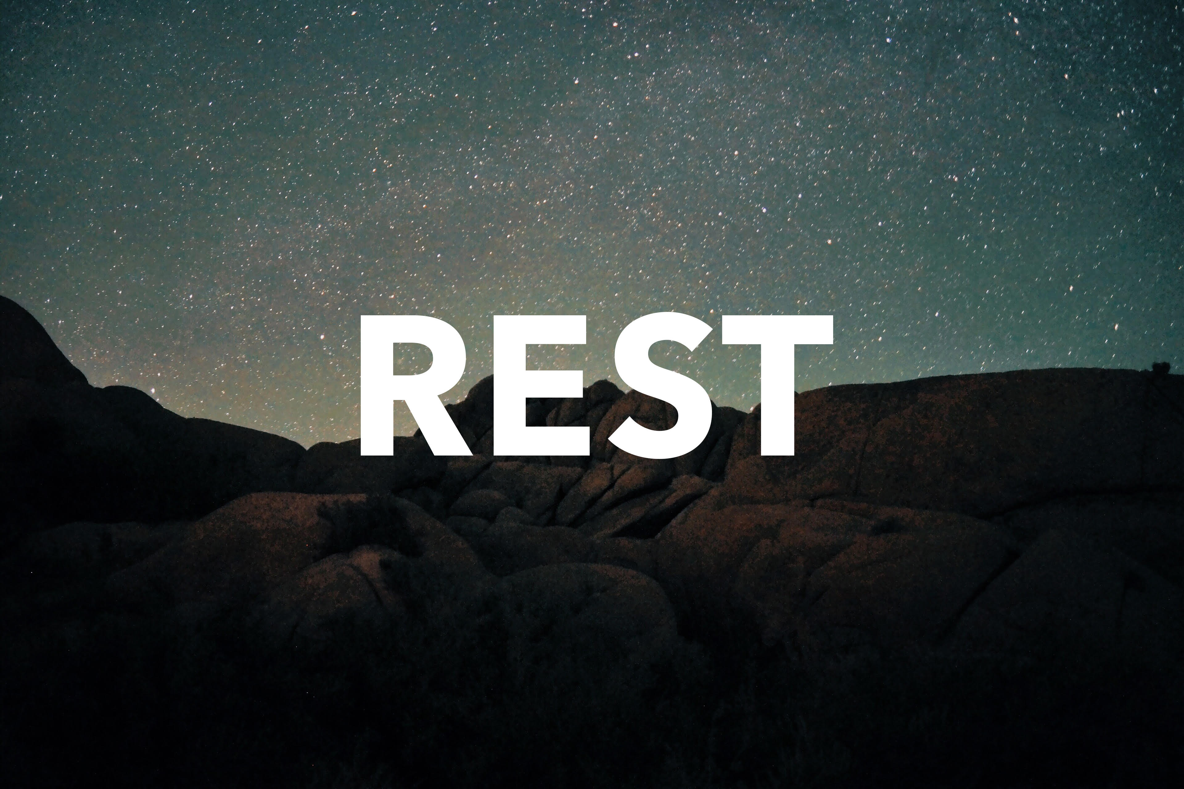 Work That Allows You To Rest